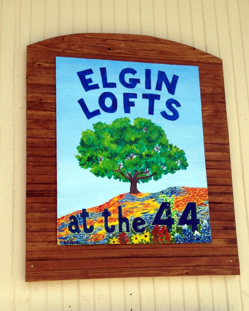 Elgin Lofts Mural